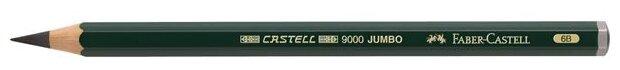Faber-Castell Карандаш чернографитный Castell 9000 Jumbo 6В