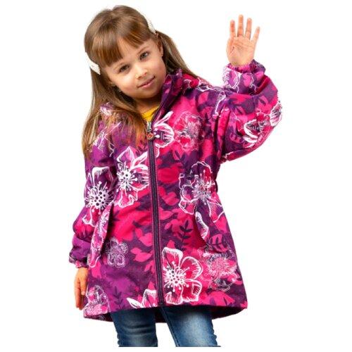 цена Куртка Canadian Line by S.L.O. размер 92, pink_flower онлайн в 2017 году
