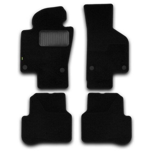 Комплект ковриков KLEVER 02510601210kh для Volkswagen Passat 4 шт. черный