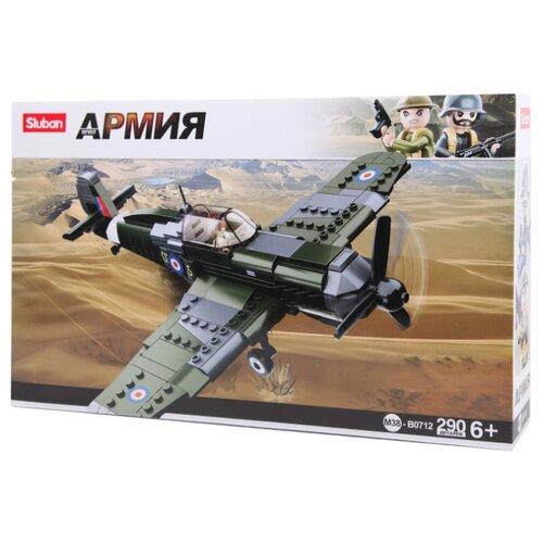 Купить Конструктор SLUBAN Вооруженные силы M38-B0712 Истребитель, Конструкторы