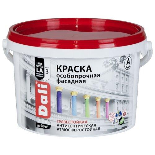 Фото - Краска акриловая DALI особопрочная Фасадная влагостойкая моющаяся матовая белый 2.5 л краска акриловая alpina долговечная фасадная влагостойкая матовая бесцветный 2 35 л