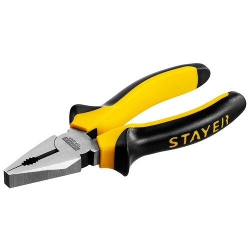 Пассатижи STAYER TopGrip 2205-1-16_z02 160 мм