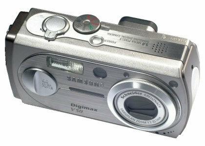 Фотоаппарат Samsung Digimax V50