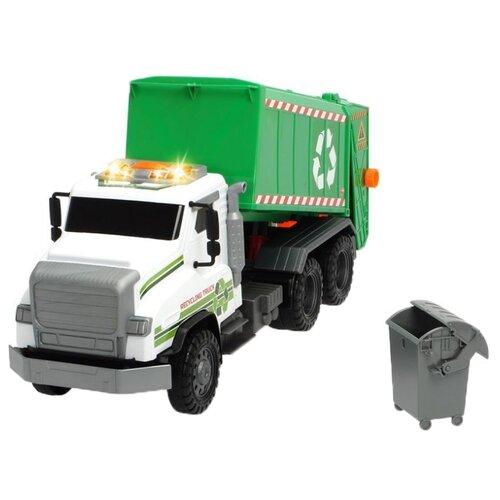 Фото - Мусоровоз Dickie Toys Гигант (3749020) 55 см белый/зеленый машины dickie эвакуатор гигант 55 см