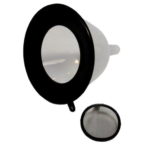 Воронка пластиковая MegaPower M-71320 белый/черный 1 шт.