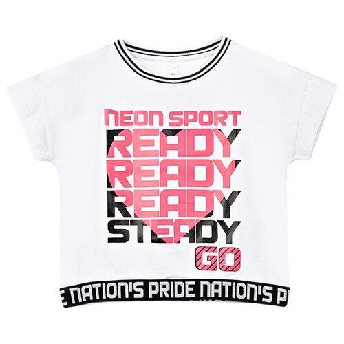 Купить Футболка playToday размер 158, белый, Футболки и майки