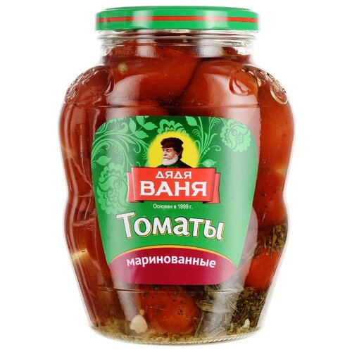 Томаты маринованные Дядя Ваня стеклянная банка 1.8 кг томаты черри mikado маринованные