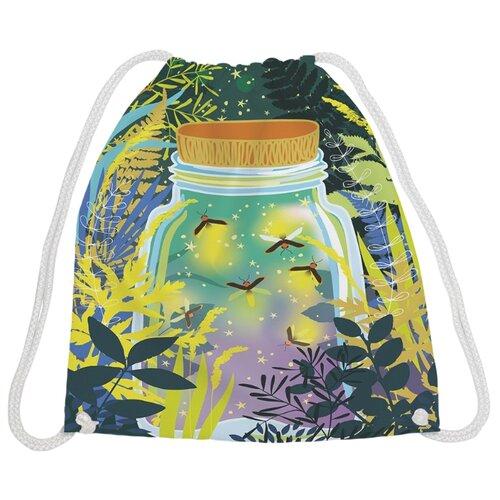 Купить JoyArty Рюкзак-мешок Баночка счастья (bpa_75004) желтый/зеленый, Мешки для обуви и формы
