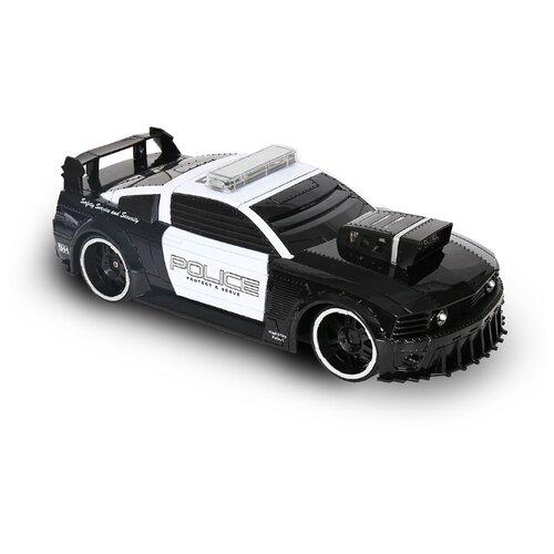 Купить Легковой автомобиль HC-Toys Western Police (75599P) 1:16 черный, Радиоуправляемые игрушки