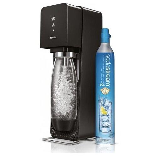 Сифон для газирования воды + баллоны Sodastream Source черный