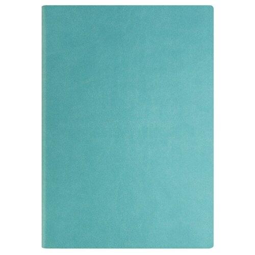 Купить Ежедневник Index Spectrum недатированный, искусственная кожа, А5, 128 листов, бирюзовый, Ежедневники, записные книжки