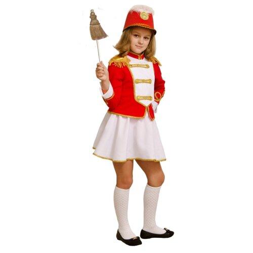 Купить Костюм Elite CLASSIC Мажоретка, красный, размер 34 (134), Карнавальные костюмы