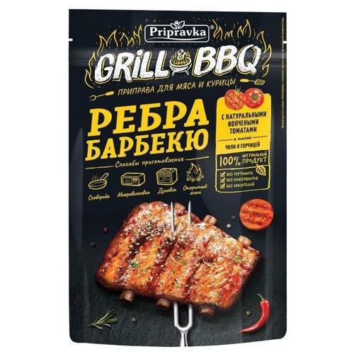 Приправка Grill&BBQ Приправа для мяса и курицы Ребра барбекю, 30 г