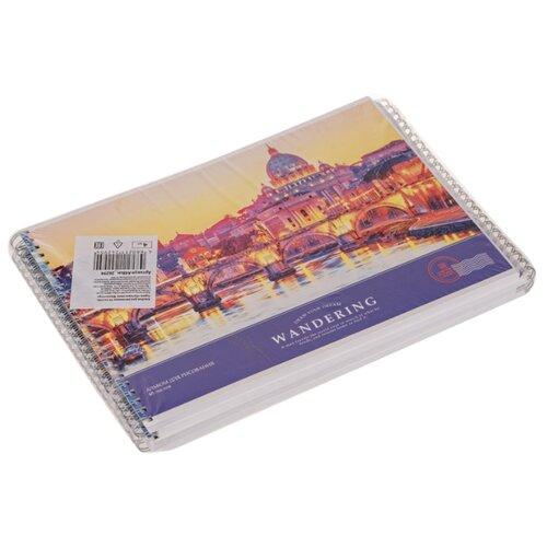 Купить Набор альбомов для рисования ArtSpace Путешествия. Wandering 29.7 х 21 см (A4), 100 г/м², 48 л. (4шт.), Альбомы для рисования