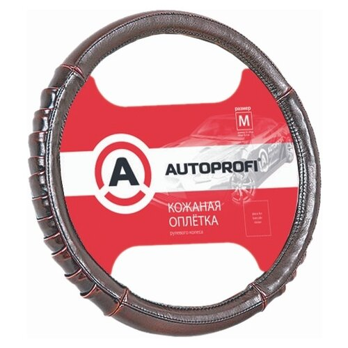 Оплетка/чехол AUTOPROFI AP-770 BR (M) коричневый