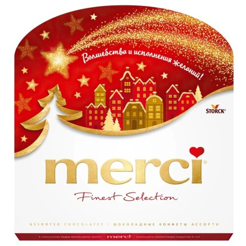 Фото - Набор конфет Merci Ассорти, 200 г набор конфет merci ассорти 400 г
