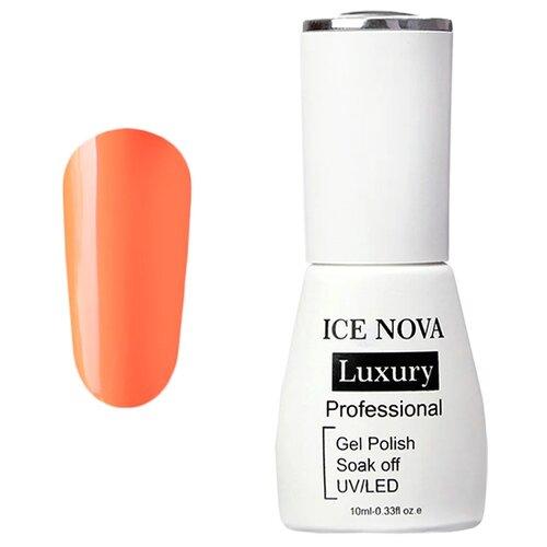 Купить Гель-лак для ногтей ICE NOVA Luxury Professional, 10 мл, оттенок 018 orange
