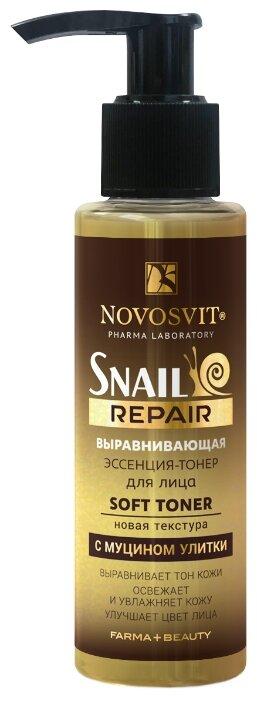 Novosvit Эссенция тонер выравнивающая с муцином улитки