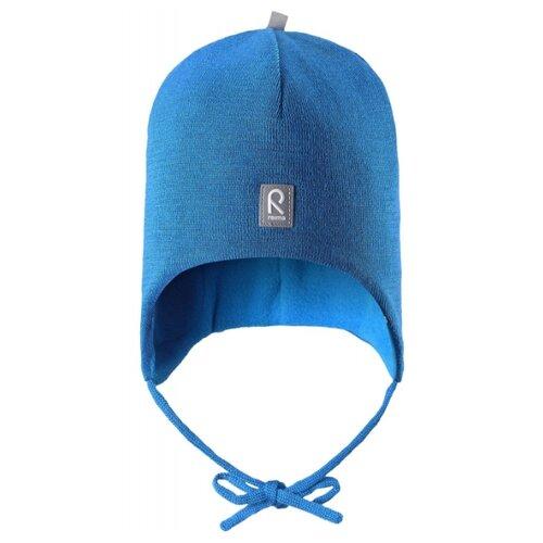 Купить Шапка Reima размер 46, 6560 голубой, Головные уборы