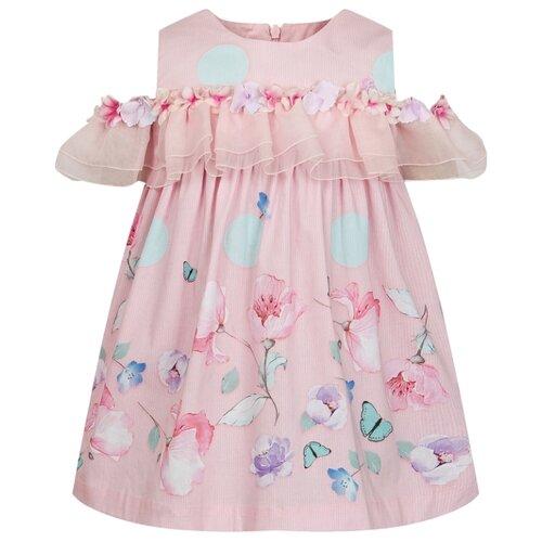 Платье Lapin House размер 116, розовый