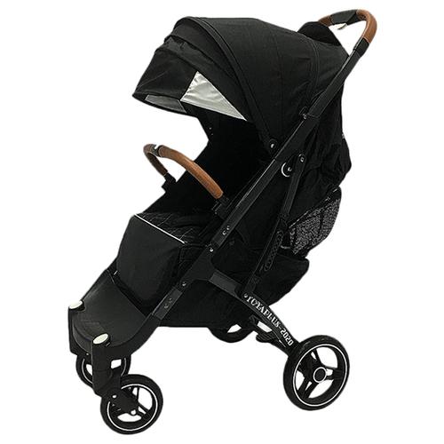 Купить Прогулочная коляска Yoya Plus Pro Max 2020 (дожд., москит., подстак., бампер, сумка-чехол, корзина д/покупок, ремешок на руку, накидка на ножки на молнии, бамб. коврик) черный/серая рама, цвет шасси: серый, Коляски