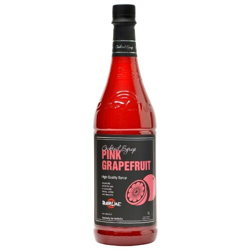 сироп для кофе и коктейлей слива 1 литр Сироп для кофе и коктейлей Грейпфрут розовый 1 литр