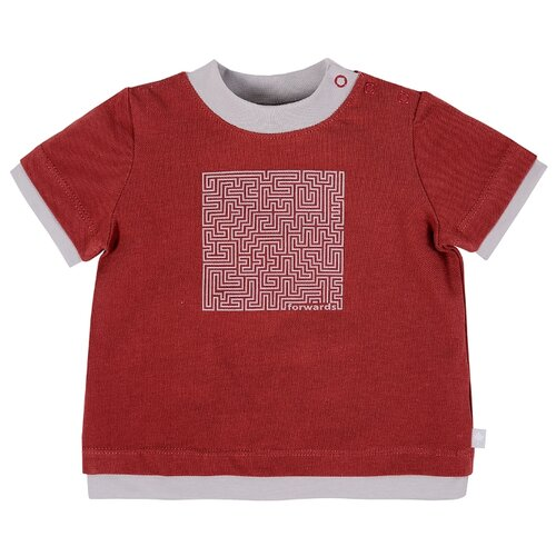 Купить Футболка Мамуляндия размер 74, красный, Футболки и рубашки