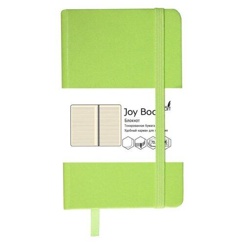 Купить Блокнот Канц-Эксмо Joy Book. Салатовый А5, 96 листов (БДБЛ5962916), Блокноты