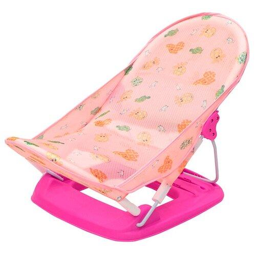 Купить Горка для купания Baby Bather Delux розовый, Funkids, Сиденья, подставки, горки
