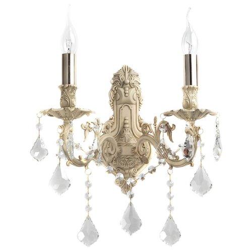 Фото - Настенный светильник Lucia Tucci Barletta W122.2 Cream White, 120 Вт настенный светильник lucia tucci ashanti w1250 2 blu
