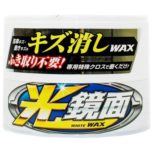 цена на Воск для автомобиля Soft99 Scratch Clear 00420 для автомобилей белого цвета 0.2 кг