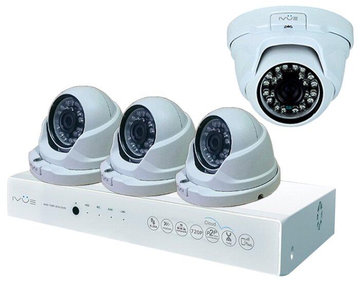 Комплект видеонаблюдения IVUE 1080P AHC D4