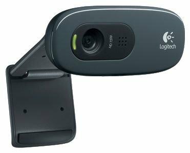 Веб-камера Logitech HD Webcam C270 черный