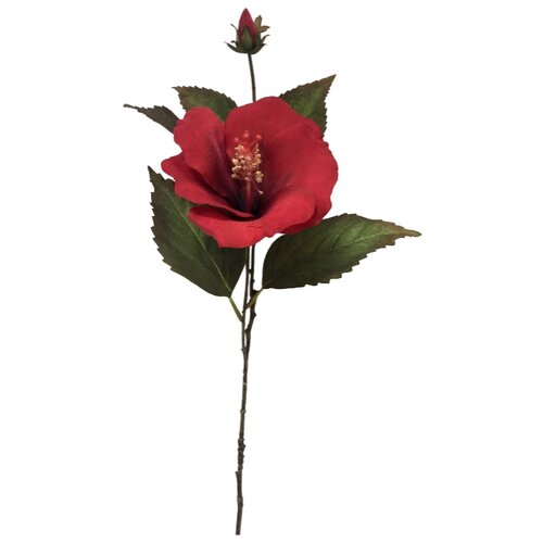 цена на Home Philosophy Гибискус 70 см (FLS414) красный