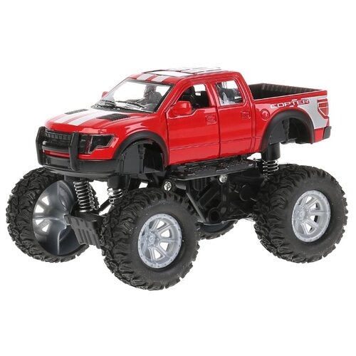 Купить Монстр-трак ТЕХНОПАРК Бигфут (YW112720-R) 12.5 см красный, Машинки и техника