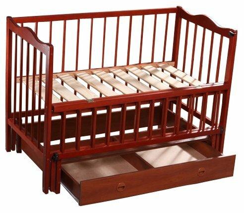 Кроватка Кузя Ангелина (с ящиком)