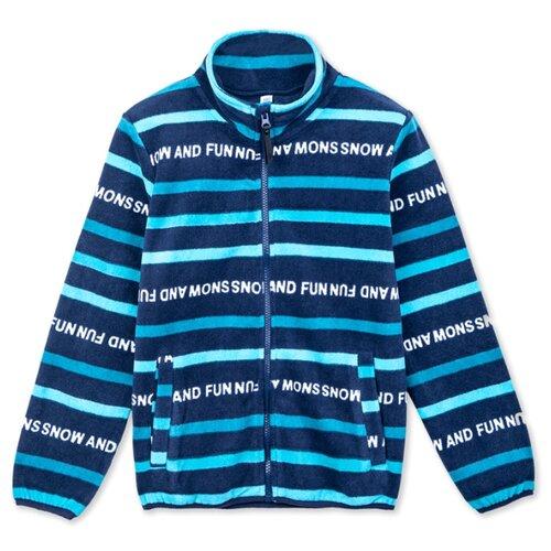 Купить Олимпийка playToday размер 98, темно-синий, Толстовки
