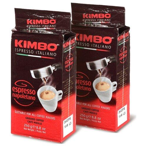 Кофе Kimbo Espresso Napoletano 2 шт по 250г, в/у