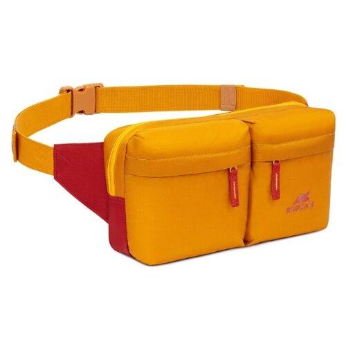 Сумка поясная RIVACASE, текстиль, gold сумка поясная kite время и стекло vis19 2562 текстиль