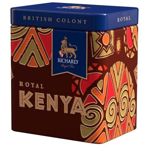 Чай черный Richard British colony Royal Kenya подарочный набор, 50 г недорого