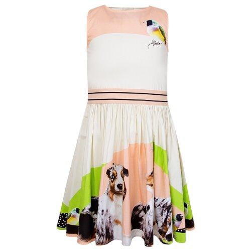 Платье Molo размер 92-98, кремовый/разноцветный комбинезон утепленный для девочки molo polaris цвет фиолетовый 5w18n202 4731 размер 98