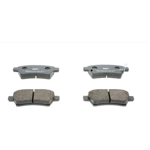 Дисковые тормозные колодки передние Ferodo FDB1882 для Nissan Pathfinder (4 шт.) тормозные колодки дисковые kotl 1546kt