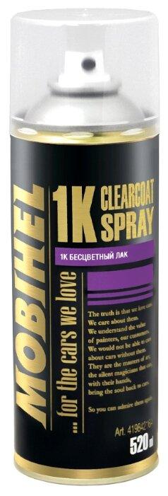 Аэрозольный автомобильный лак Mobihel 1K Clearcoat Spray