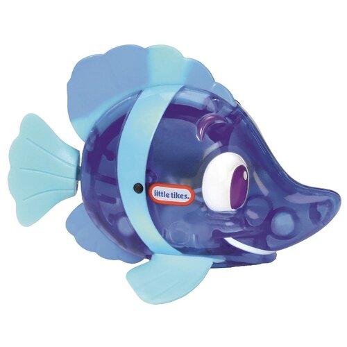 Купить Игрушка для ванной Little Tikes Flicker Fish Рыба-ласточка 638220M синий/голубой, Игрушки для ванной