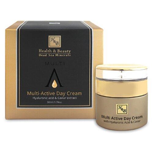 Health & Beauty Multi-Active Day Cream Мультиактивный дневной крем для лица с гиалуроновой кислотой и экстрактом икры, 50 мл magruss multi active day super