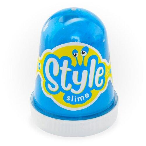 Лизун LORI Style Slime с ароматом тутти-фрутти голубой