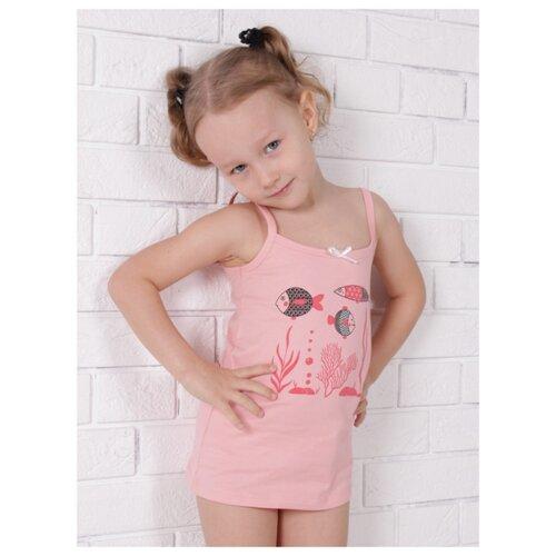 Комплект нижнего белья Jewel Style размер 98, розовый комплект нижнего белья ibala размер 30 92 98 белый розовый красный