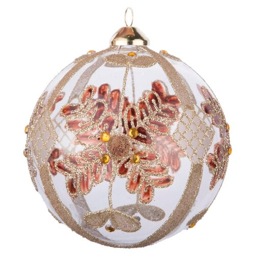 Набор шаров KARLSBACH 07307, прозрачный/золотой