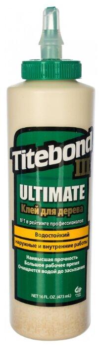 Клей полимерный Titebond III Ulimate Wood Glue 1414 0.473 л