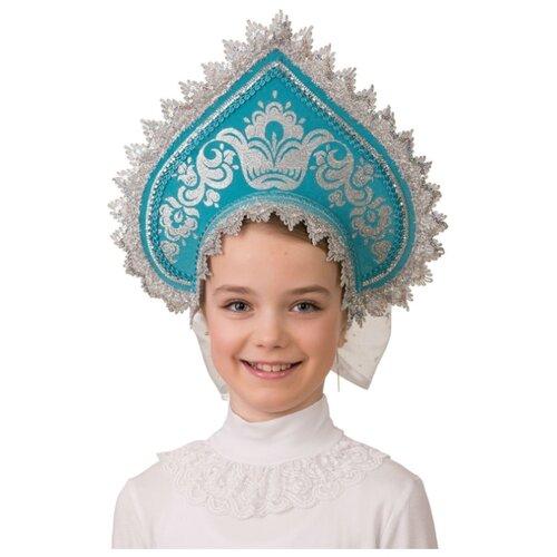 Купить Головной убор Батик Jeanees Узорный (5403), синий, размер 52-54, Карнавальные костюмы